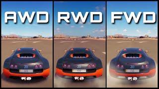 The Ultimate Battle! | Forza Horizon 3 | AWD Veyron vs RWD Veyron vs FWD Veyron