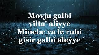 Najwa Farouk - Mawjouaa Galbi ⎮Sözleri ⎮ Lyrics ⎮ Altyazili Türkçe Okunuşu