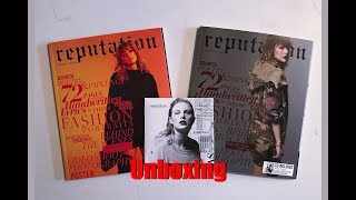 Unboxing / Reaction Taylor Swift Reputation Target Magazines Vol 1 & 2