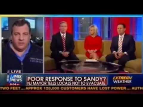Chris Christie Burns FOX NEWS Fox & Friends Steve Doocy
