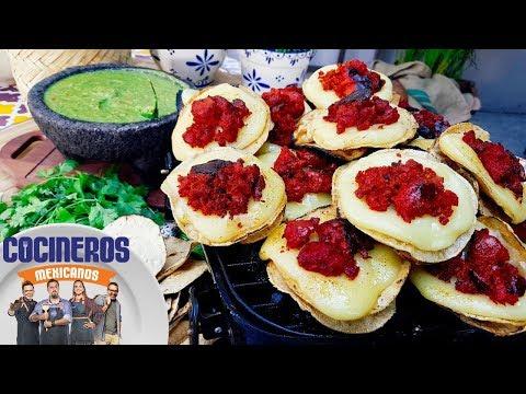 Receta: Volcán de queso y longaniza   Cocineros Mexicanos