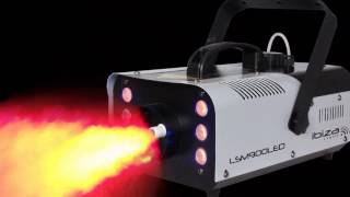 """IBIZA Light """"LSM-900 LED"""" Funk Nebelmaschine"""