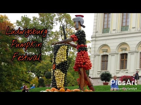 Day Trip To Ludwigsburg Pumpkin Festival | Germany Travel Vlog
