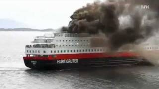 MS Nordlys Cruise Ship Fire