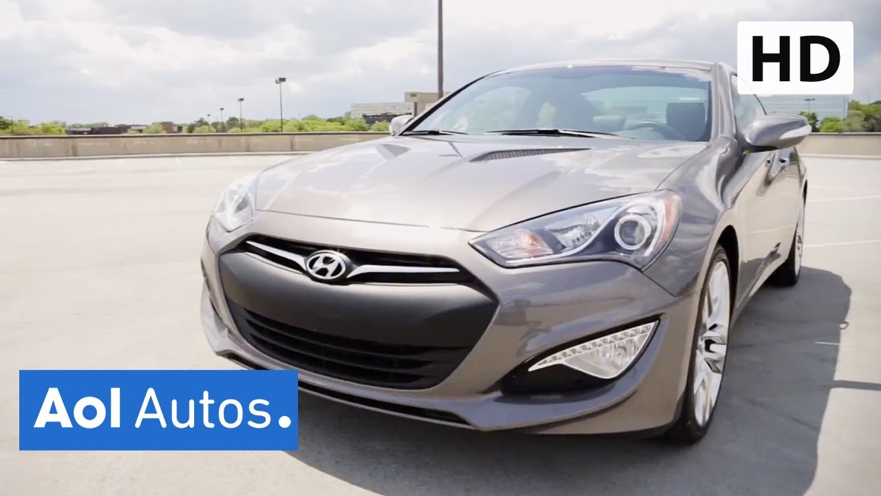 2013 Hyundai Genesis Coupe 3.8 Track Review | AOL Autos - YouTube