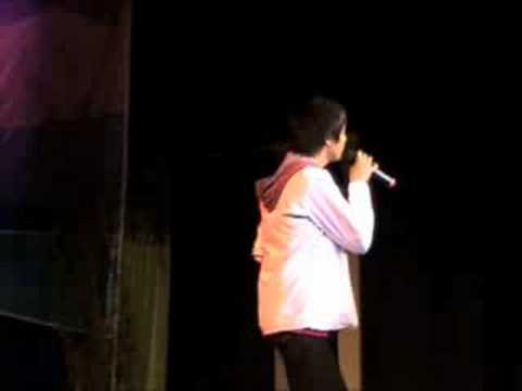 Sam Concepcion singing I'll Find Your Heart in Baguio City