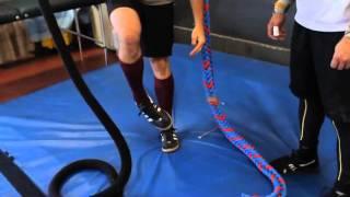 CrossFit - Mikko Salo Learns Rope Climb Technique