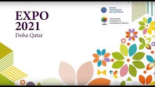#Expo2021 Doha Qatar المعرض الدولي للبستنة #إكسبو2...