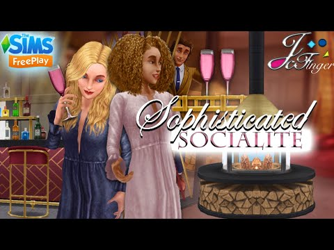 The Sims FreePlay |[ EARLY ACCESS ]| 🥂🍾👔👗SOPHISTICATED SOCIALITE EVENT PREVIEW.