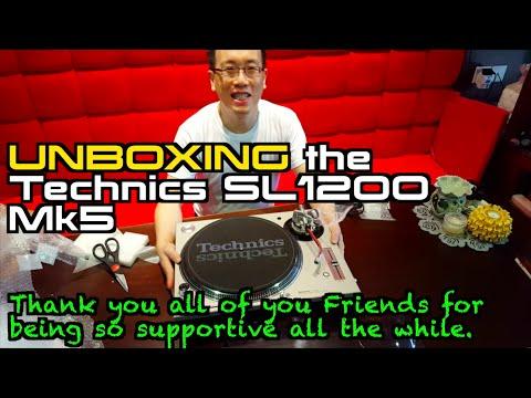 Unboxing Technics SL1200Mk5 :-D