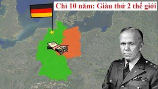 Tại sao Đức giàu quá nhanh sau Thế chiến 2?