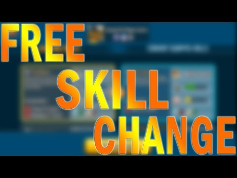 HOW TO CHANGE SKILLS FOR FREE IN MONSTER LEGENDS