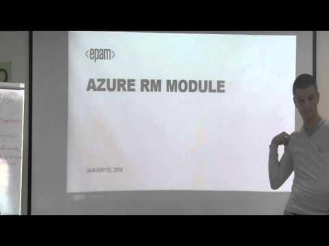 Azure Powershell. Azure Automation