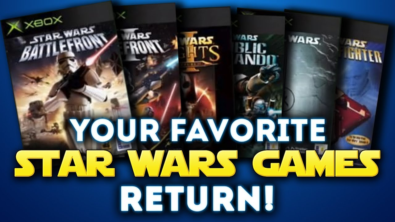 TONS OF STAR WARS GAMES Will Be Backwards Compatible for Xbox One! Republic  Commando and More!