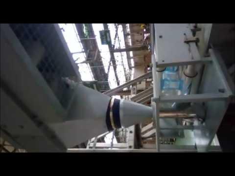 FFS Machine with Bucket Conveyor