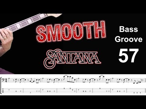SMOOTH(Carlos Santana feat. Rob Thomas) Bass Cover with Score Lesson