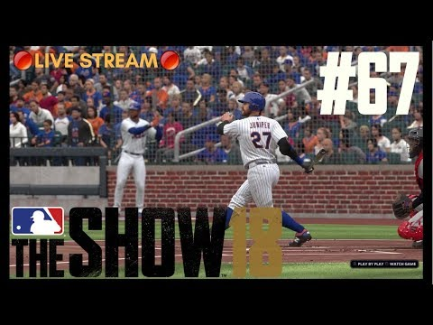 Grinding To The Playoffs!   MLB The Show 18   RTTS Livestream #1