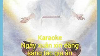 Karaoke Dâng chúa mùa xuân