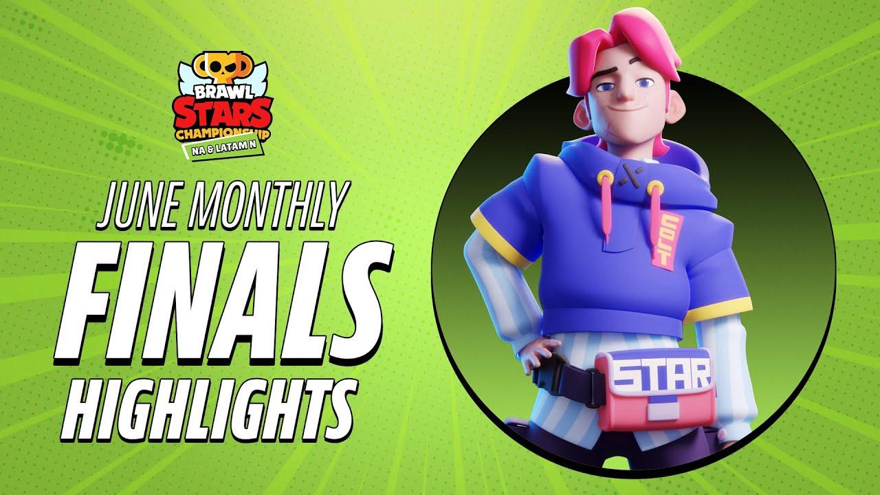 Brawl Stars Championship 2021 - June Monthly Finals Highlights [NA & LATAM N]