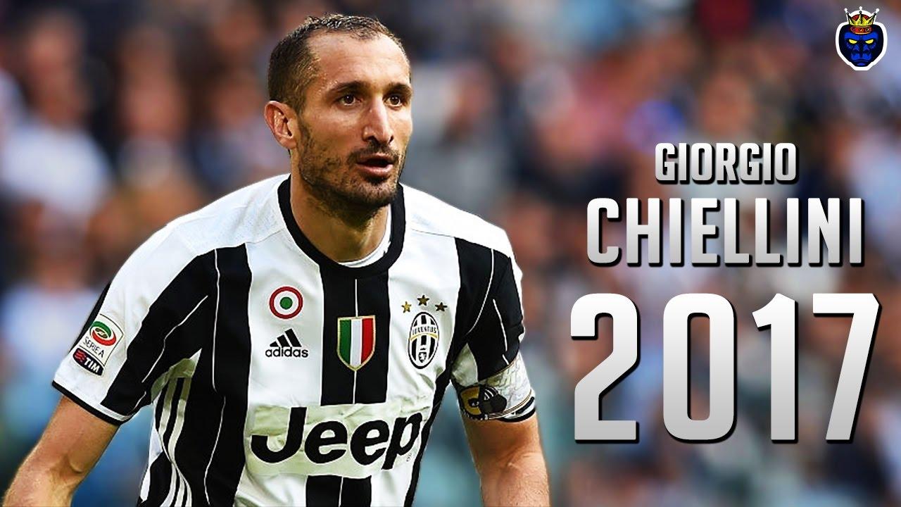Giorgio Chiellini ○ The Gorilla ○ Crazy Defensive Skills 2017