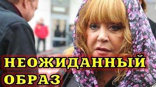 Новые фото Аллы Пугачевой со съемок нового клипа