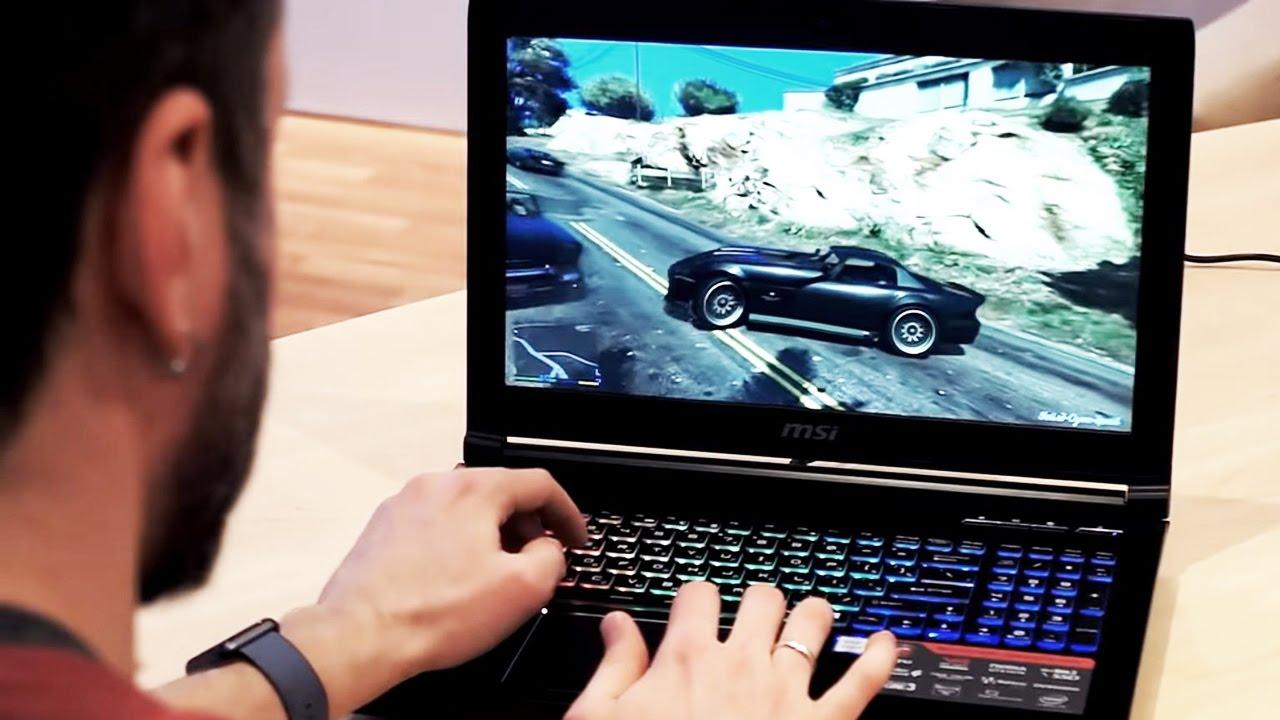 Полный обзор игрового ноутбука MSI GT62VR