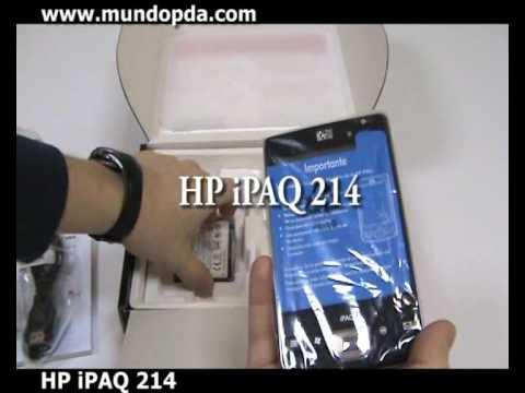 HP iPAQ 214 Enterprise - Contenido (unboxed) - MundoPDA