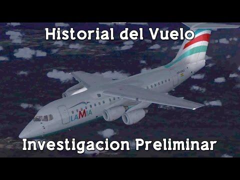 Investigación completa del Vuelo Chapecoense