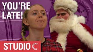 Santa Claus Breaks Curfew - Studio C