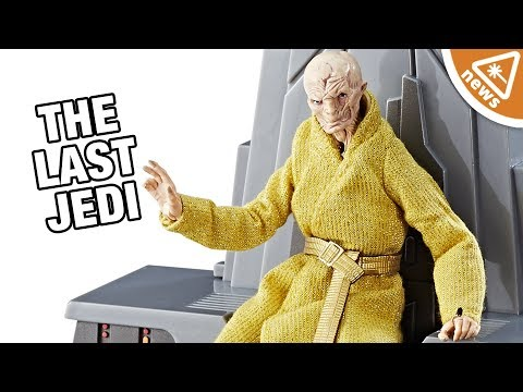 The Hidden Detail You Missed in Snoke's Force Friday Toy! (Nerdist News w/ Jessica Chobot)