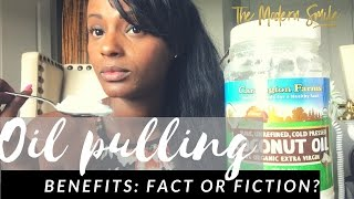 A dentist opinion on Oil Pulling: Facts and Myths