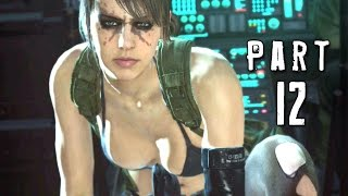 Metal Gear Solid 5 Phantom Pain Walkthrough Gameplay Part 12 - Quiet Boss (MGS5)