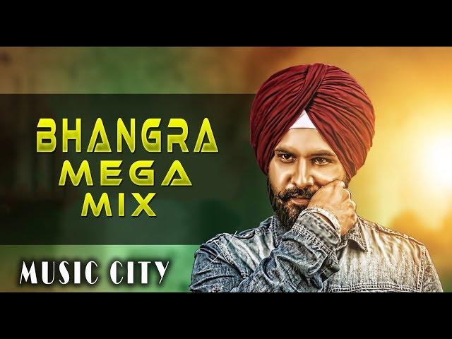 Non stop Bhangra Mega Mix | Punjabi DJ Remix songs | Latest Punjabi Mashup 2018