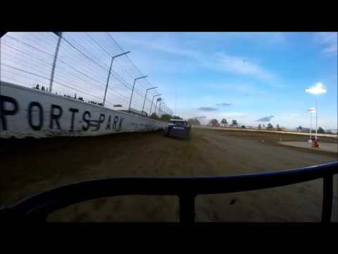 Limaland Motorsports Park Modified Heat, Jeff Koz GoPro 5-13-2016