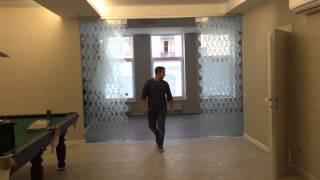 Раздвижные двери из стекла, от студии стекла и зеркал GlassStyle, Казань(Подробности на нашем сайте zerkala116.ru Вы всегда можете позвонить нам, или оставить заявку на похожие раздвижны..., 2015-08-02T14:03:16.000Z)