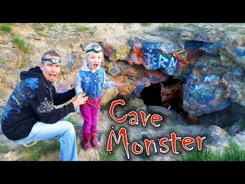 Cave Monster Caught on Camera!!! We Found the Monster Hiding in it's Lair!