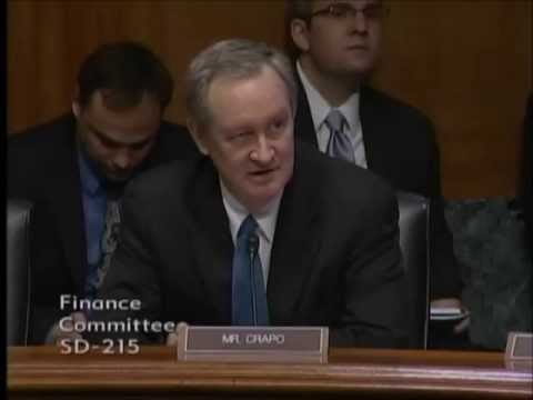 Crapo questions the IG for tax administration on the IRS scandal