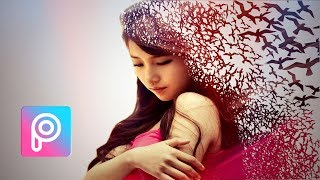 PicsArt Tutorial Dispersion Effect | PicsArt Editing Tutorial 2018