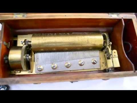 Swiss Music Box at Estate Sale for $10 Thrift Finds Gold Silver Antiques  Jewelry Estate Economy #63