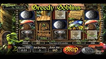 GREEDY GOBLINS +MEGA WIN! +BONUS GAME! +FREE SPINS! online free slot SLOTSCOCKTAIL betsoft