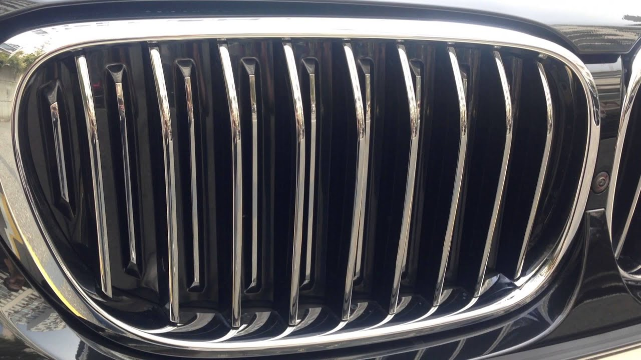 2016 Bmw 7series Active Air Stream Youtube