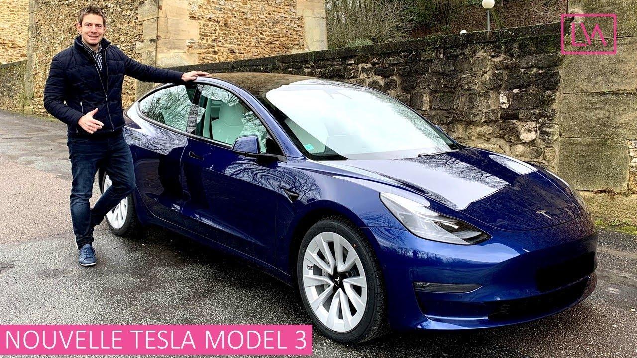 Essai NOUVELLE Tesla Model 3 - Pour 500€/mois, impossible de trouver mieux!