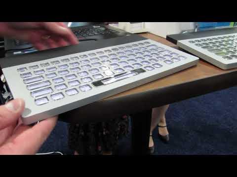 Nemeio customizable keyboard with ePaper display