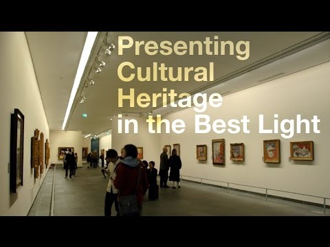 Presenting cultural heritage in the best light malcolm for Lighting for interior design malcolm innes