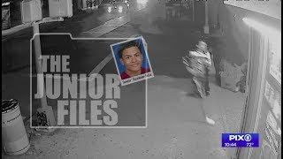 Newly released videos show Junior's desperate final moments before being hacked to death