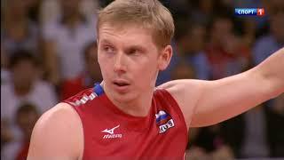 Волейбол. ОИ 2012. Россия - Польша. 1/4 финала. 08.08.2012