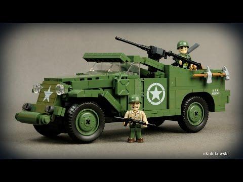 COBI M3 Scout Car (2368) - recenzja