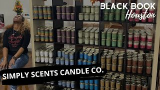Black Book Houston ft. Simply Scents Candle Co.