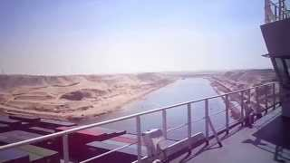 Video Exclusive to the new channel of the highest container carrier in the world Suez