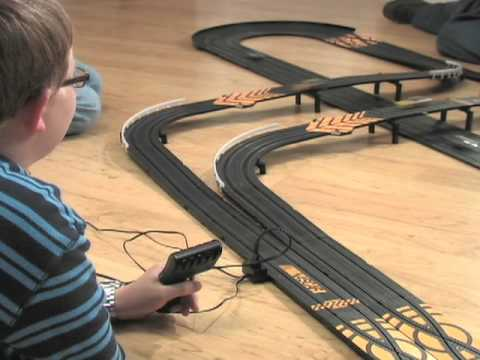 NASCAR 4-lane Race Day Slot Car Set